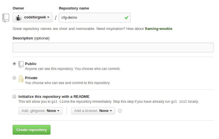 Repository of Github