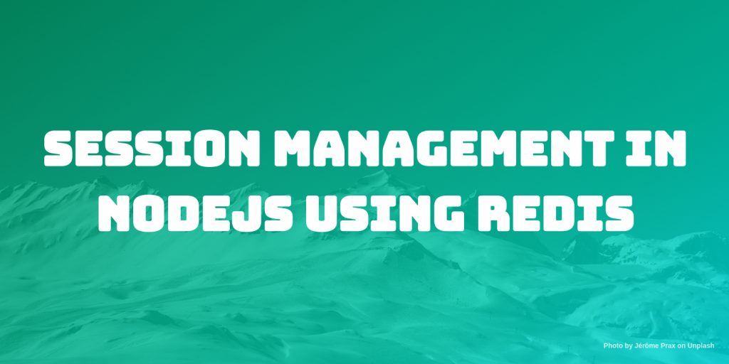 session management in node using redis
