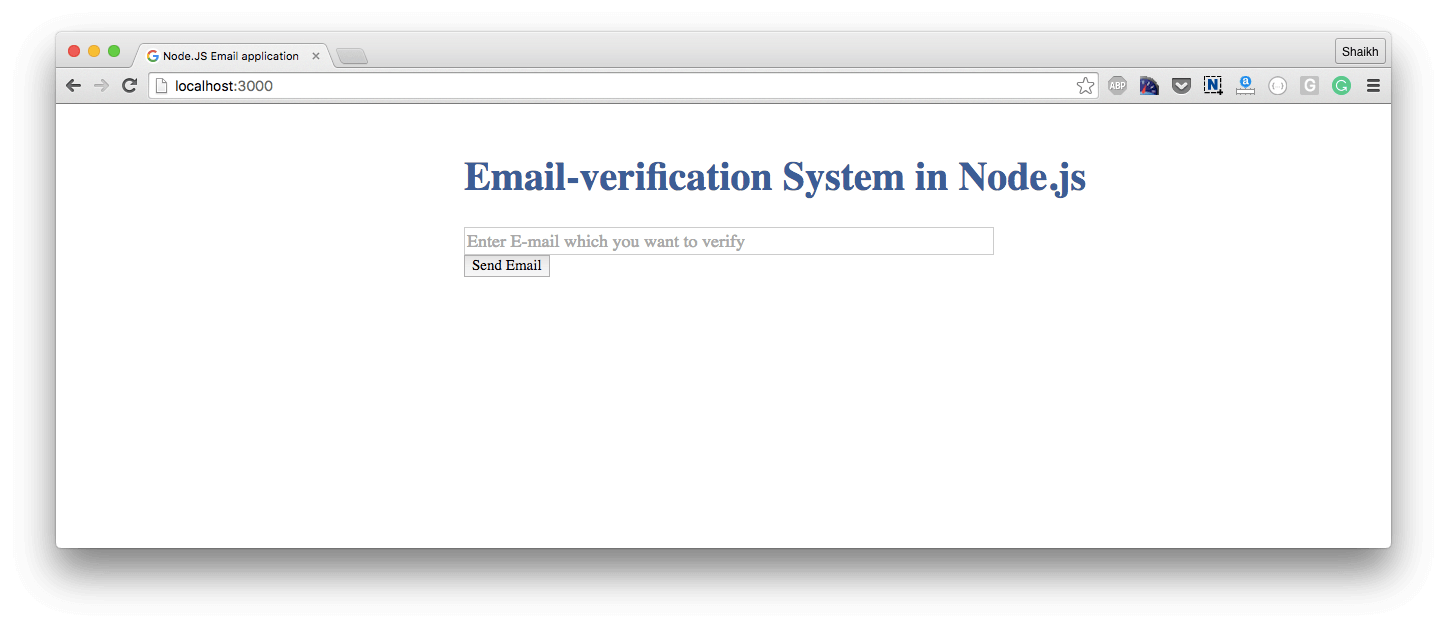 Nodejs and redis tutorial