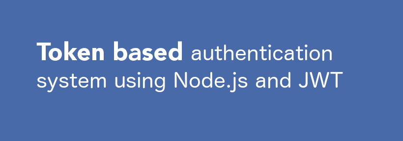 token based authentication