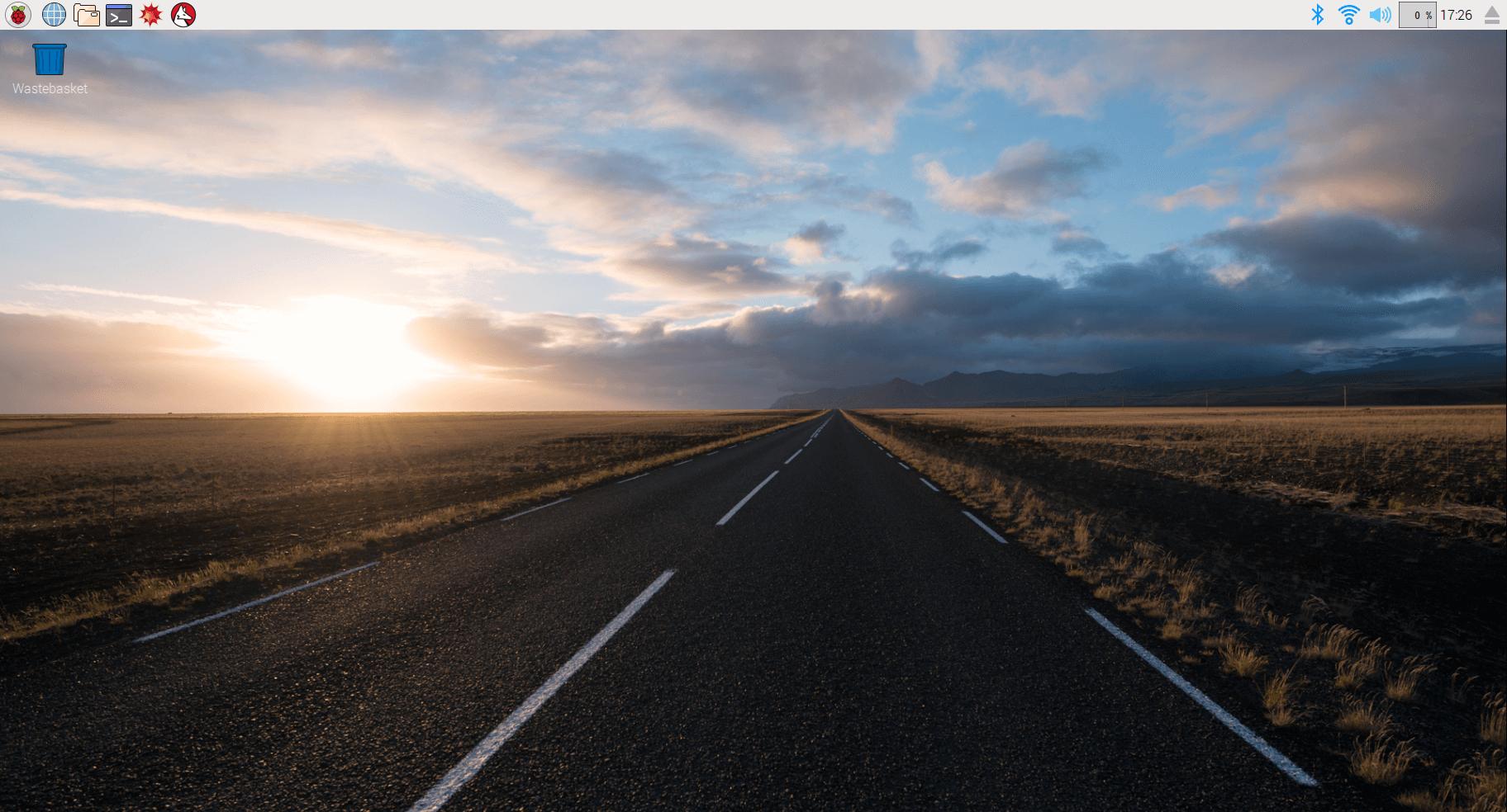 Raspbian desktop