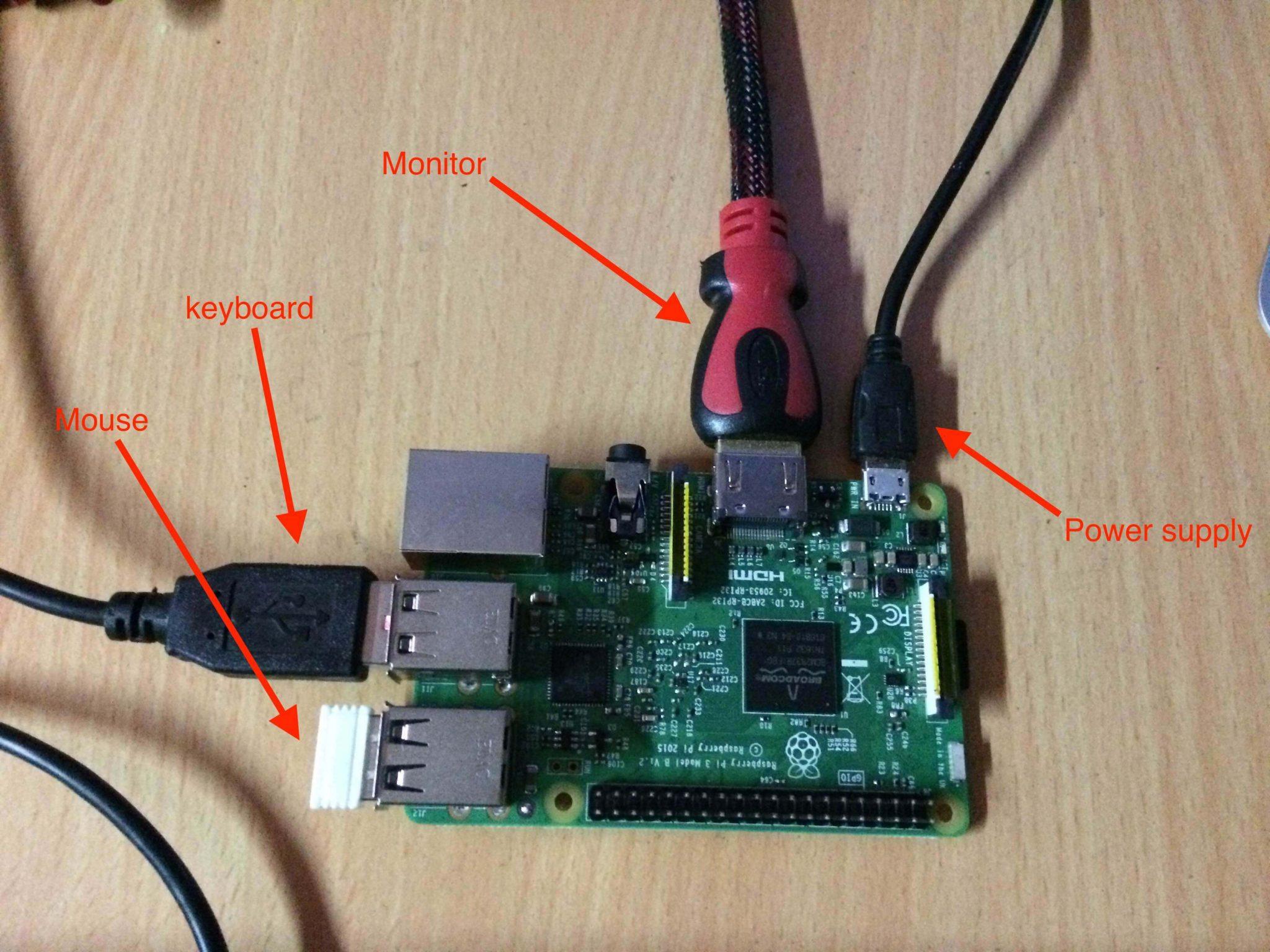 RaspberryPI connection