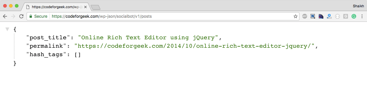 Build WordPress Plugin