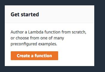 Step 1 - AWS Lambda