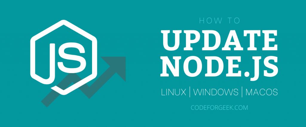Update Nodejs Featured Image