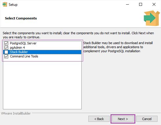 Postgres With Nodejs Install Win Step 3