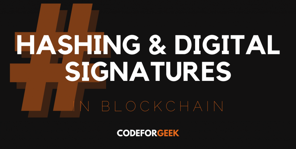 Hashing And Digital Signature Featured Image