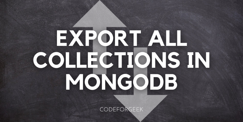 Export All Collections In MongoDB Featured Image
