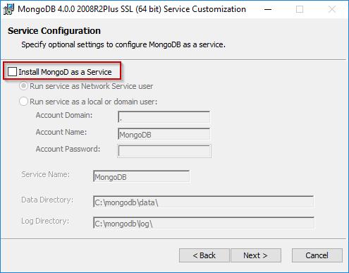 Install And Set up Mongodb On Windows Step 10
