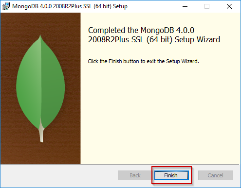 Install And Set up Mongodb On Windows Step 13