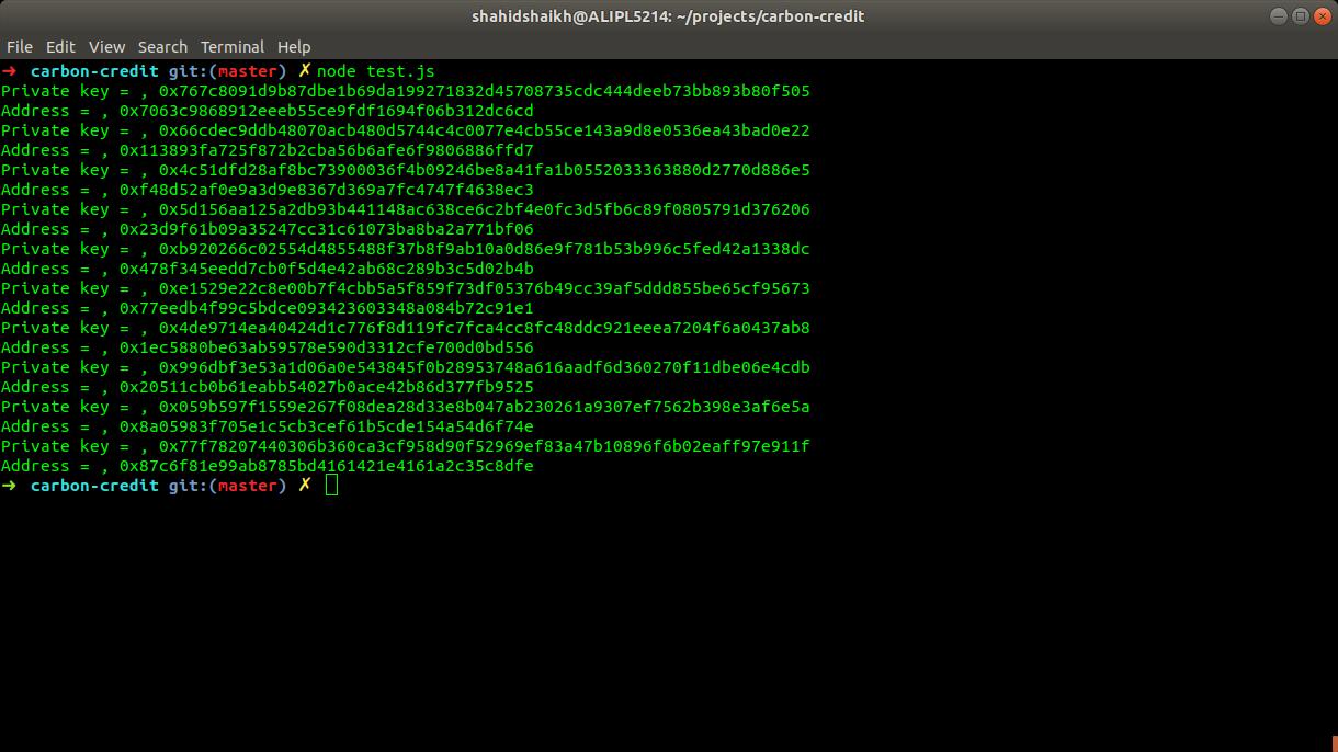 Generate Ethereum Address
