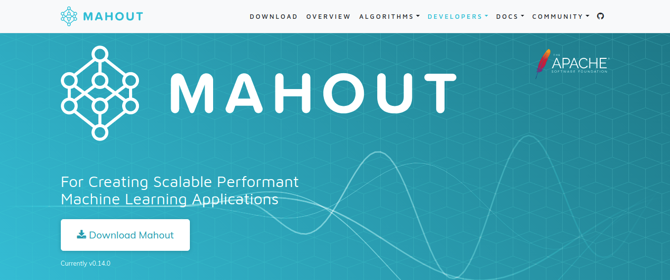 mahout homepage
